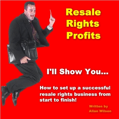 Product picture Resell Rights Profits
