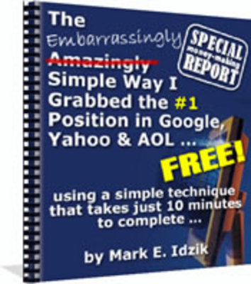 Product picture The Embarrassingly Simple Way I Grabbed a #1 Google Ranking