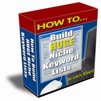 Product picture How to Build A Huge Keyword List